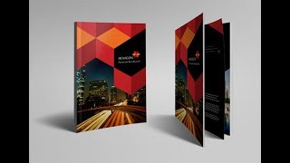Fantastic Flyer , Brochure , Booklet , Poster Design in CorelDraw X6 X5 X7 X8