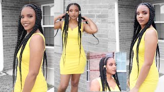 DIY Pop smoke inspired braids| Feed-in braids