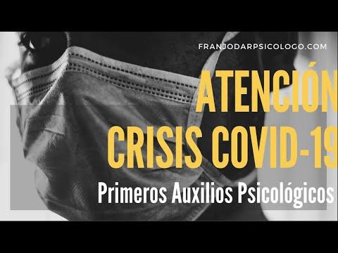Webinar Atención Crisis COVID19 - Primeros Auxilios Psicológicos para Profesionales