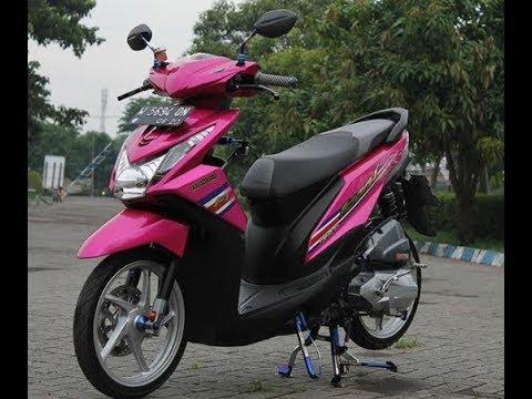 Modifikasi Motor Honda Beat Warna Pink Blog Motor Keren
