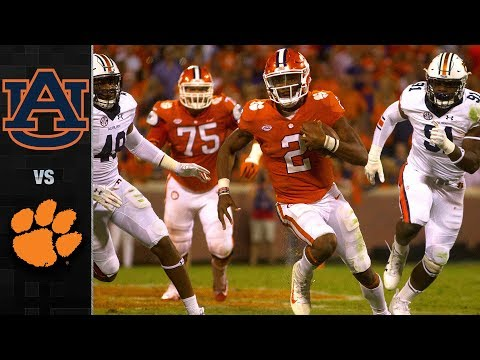 Auburn vs. Clemson Football Highlights (2017)