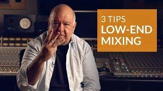 3 Golden Rules for Low End Hip Hop Mixing | Lu Diaz (Jay Z, Beyoncé)
