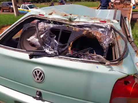 Grave acidente na rodovia Ponta Porã/Antônio João deixa uma pessoa morta