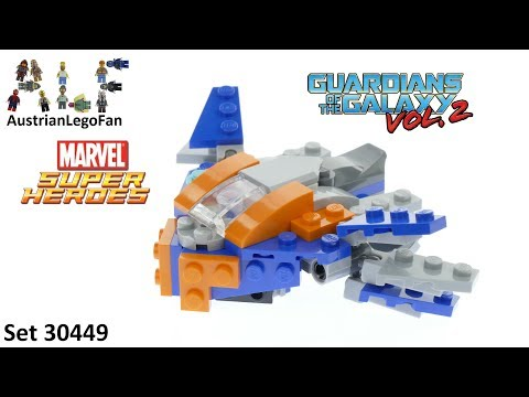 Vidéo LEGO Marvel Super Heroes 30449 : The Milano (Polybag)