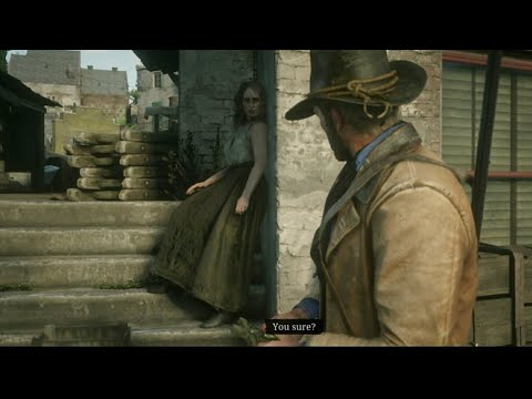 From Prostitute To Golf Course Owner: Edith Downes Full Story - Do Not Seek Absolution Missions RDR2