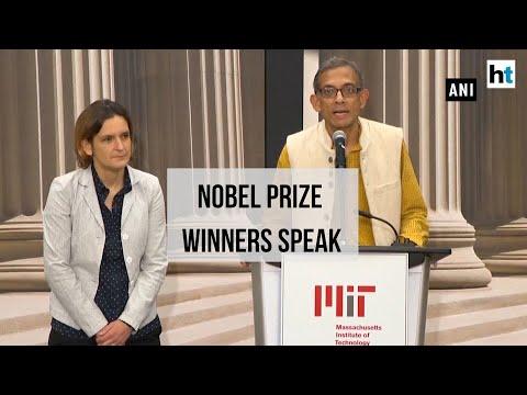 Watch: Nobel laureates Abhijit Banerjee & Esther Duflo speak on top honour