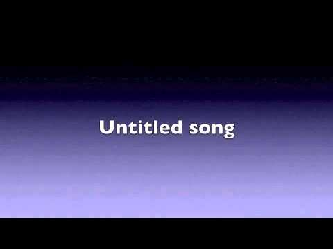 Untitled song