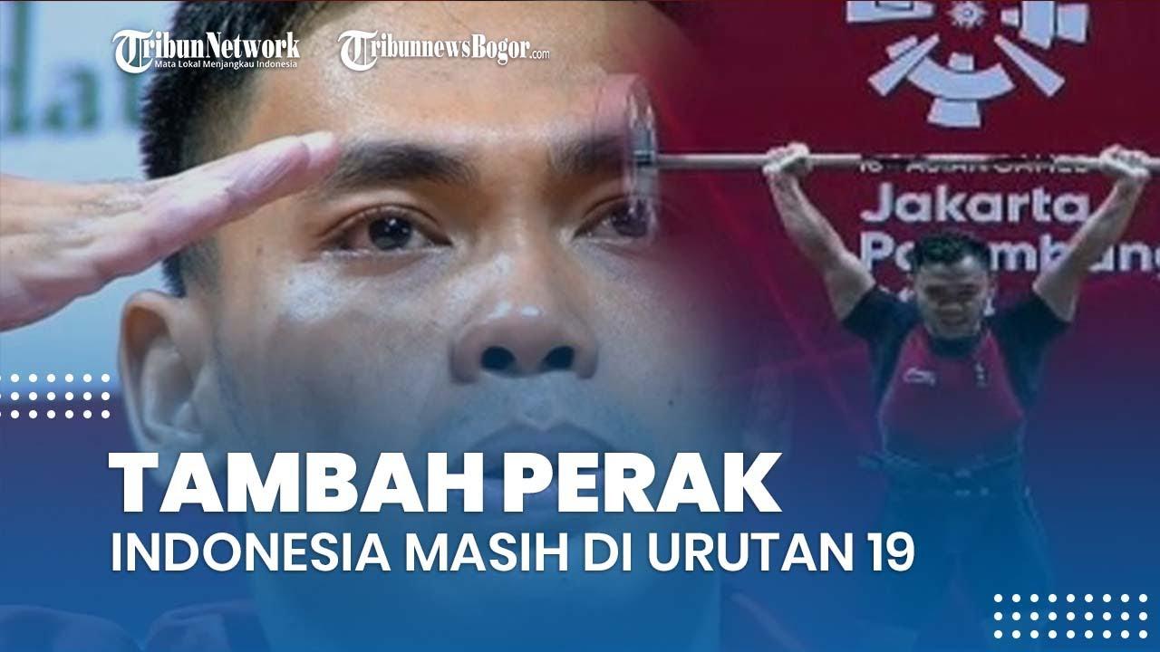 Tambah Perak, Ini Update Klasemen Sementara Perolehan Medali Olimpiade 2021, Indonesia di Urutan 19