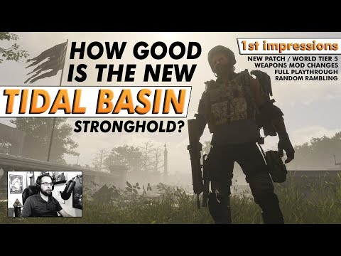 , title : 'The Division 2: TIDAL BASIN STRONGHOLD – Full Playthrough Impressions'