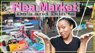 HOW TO SELL AT A FLEA MARKET // Dos And Donts Of Selling // MAKE MONEY At Your Flea Market