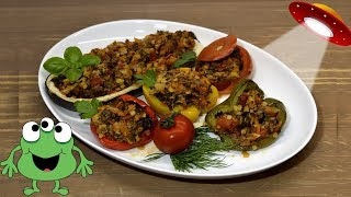 Фаршированные овощи. ПП.Вкусно будет всем. Без исключений! :))