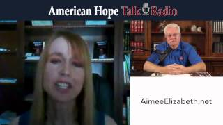 WL Laney interviews Aimee Elizabeth on American Hope Talk Radio