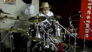 Drummer Misca M plays Apulanta-Pahempi toistaan (cover)
