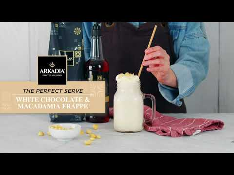White Chocolate and Macadamia Frappe Recipe