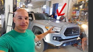 TACOMA TEARDOWN - Lifting my new truck!!