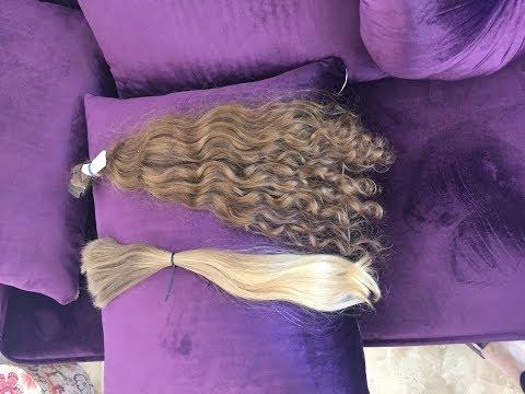 Волосы для наращивания  и цены. Виды типы  качество.