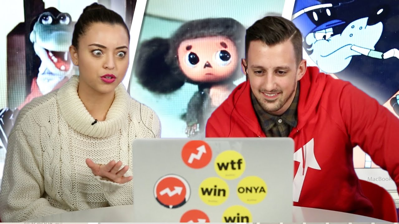 Americans Watch Russian Cartoons For The First Time thumbnail