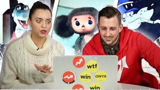Americans Watch Russian Cartoons For The First Time