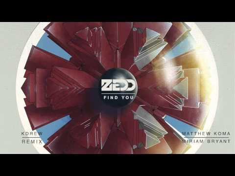Zedd ft. Matthew Koma & Miriam Bryant - Find You (KDrew Remix)
