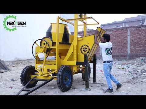 Two Leg Concrete Lift Mixer
