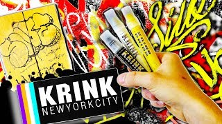 Gambar cover KRINK K-80 Solid Paint Marker Review and Surface Test