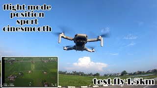 Mavic Mini flight mode Position, sport, cinesmooth & gimbal mode FPV