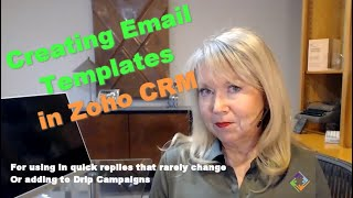 Zoho CRM Email Templates