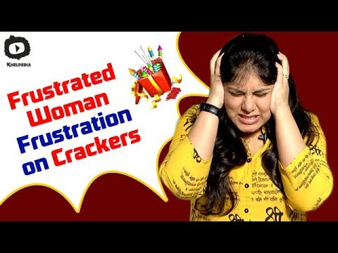 Frustrated Woman FRUSTRATION on DIWALI Crackers | Telugu Comedy Web Series | #Diwali 2017 | Sunaina