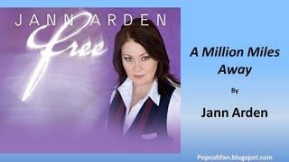 Jann Arden - A Million Miles Away (Lyrics)