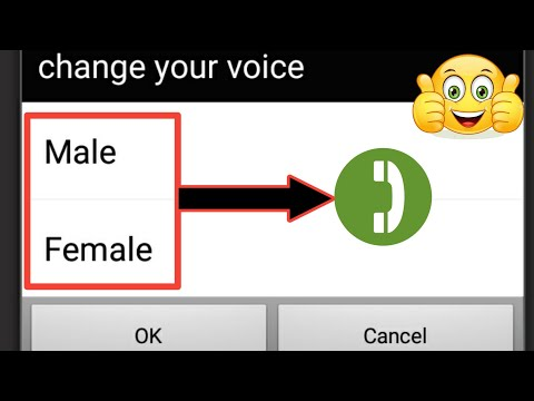 Change Your Voice And Make Call to Your Girlfriend