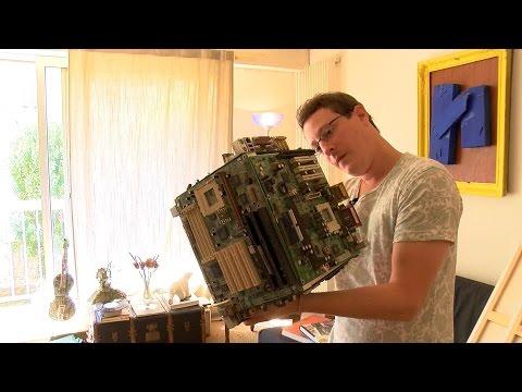 Jean-Guillaume Le Roux, Artiste numérique