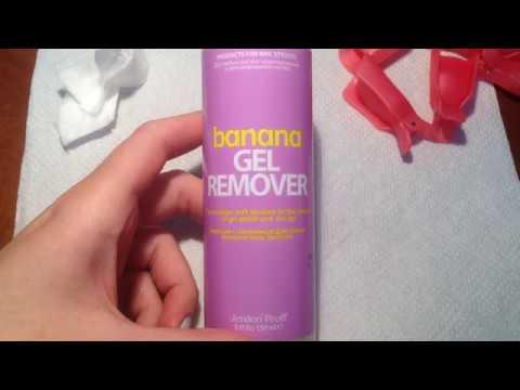 Cредство для снятия гель-лака Jerden Proff Gel Remover Банан, 150 мл. (отзыв)