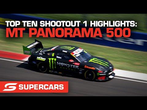 SUPERCARS 2021 Repco マウント・パノラマ500 トップ10台によるシュートアウトのハイライト動画