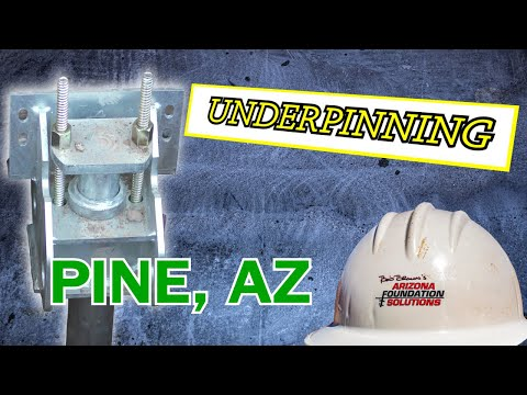 Pine, Arizona Foundation Repair