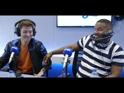 Ansel Elgort's AMAZING singing voice! | Baby Driver Interview | Magic Radio