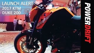 2017 KTM Duke 200 : All you need to know : PowerDrift