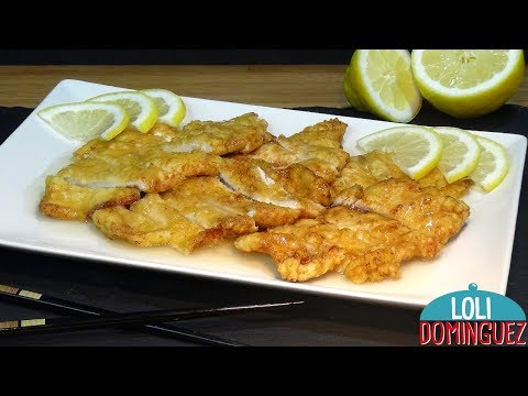 El secreto de cómo hacer Pollo al limón estilo chino, receta deliciosa y fácil - Loli Domínguez