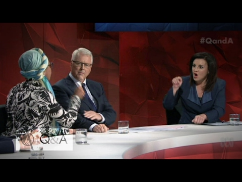 Sharia law debated by Yassmin Abdel-Magied and Jacqui Lambie on Q&A   ABC News