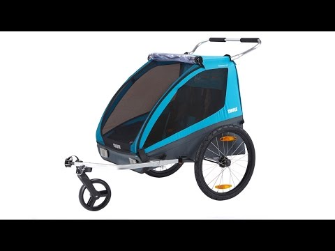 Remolque de Bicicleta para Niños Coaster2 XT Thule, 2 plazas