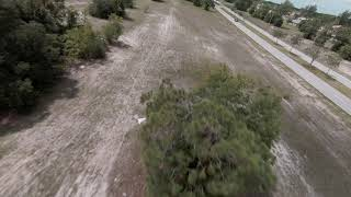 First manual flight with DJI FPV drone Apple Devices 4K