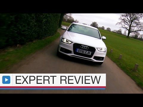 Audi A4 saloon car review