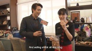 [Eng Sub] Buang Hong - 2016.09.01 - Introduction, running into the set