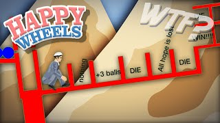 WEIRDEST BALL THROW EVER!!    Happy Wheels #30