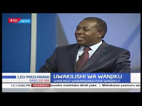 Uwakilishi wa wanjiko: Majukumu ya bunge