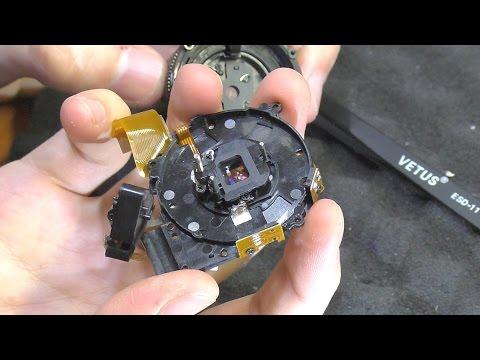 Не выдвигается объектив. Фотокамера Samsung S1060. Ремонт объектива