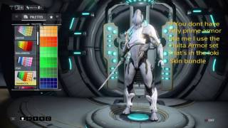 Warframe How To Look Like Excalibur Prime