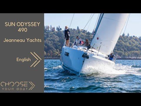 Jeanneau Sun Odyssey 490 video