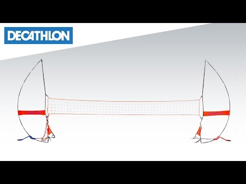 Come montare la rete da pallavolo The Net Kipsta | Decathlon Italia