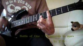 30 seconds to mars - Battle of One - guitar cover
