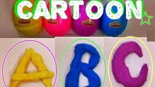 ABC Play-doh cartoon [stopmotion]